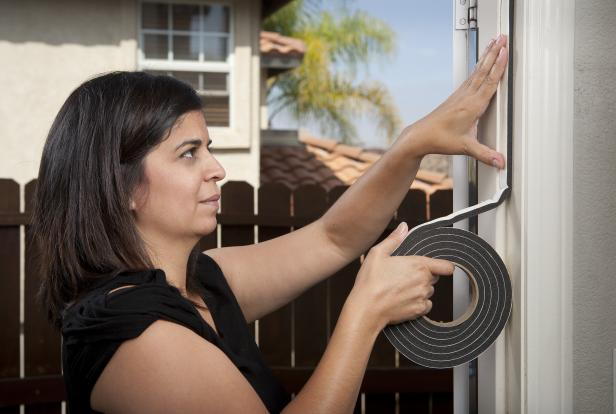 Energy Efficiency Tip: Make sure your doors and windows are properly sealed.