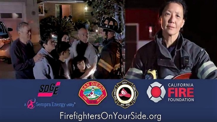 The California Fire Foundation (CFF) today unveils new in-language public service announcements (PSAs) that will help educate the Chinese community on fire safety and steps to take in the event of a house fire.