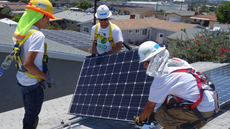 The Solar Affordable Housing Program is GRID Alternatives San Diego's core program, providing no-cost solar electric systems to low-income qualified families.