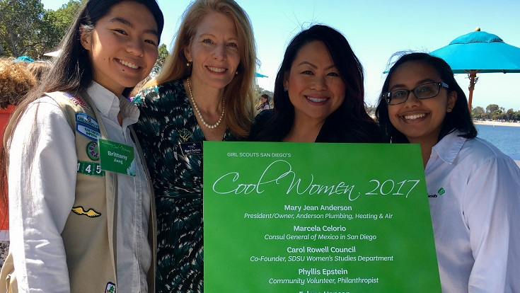 From selling cookies to running the world, the Girl Scouts San Diego's Cool Women Awards is proof that women can do anything they put their minds to.
