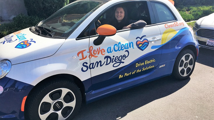 Driving an electric vehicle or plug in hybrid in San Diego is a real win for our planet and our oceans.