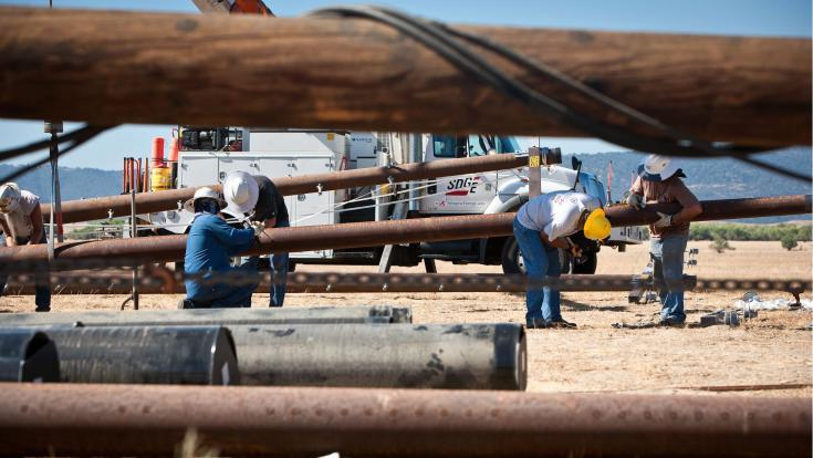SDG&E has replaced more than 7,000 wood poles with durable steel poles throughout the San Diego region