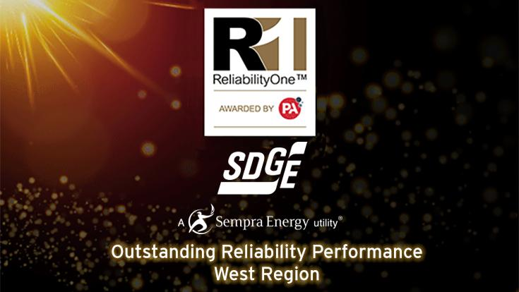 2016 marks the 11th straight year SDG&E has been recognized for providing the most reliable service in the West to our customers.