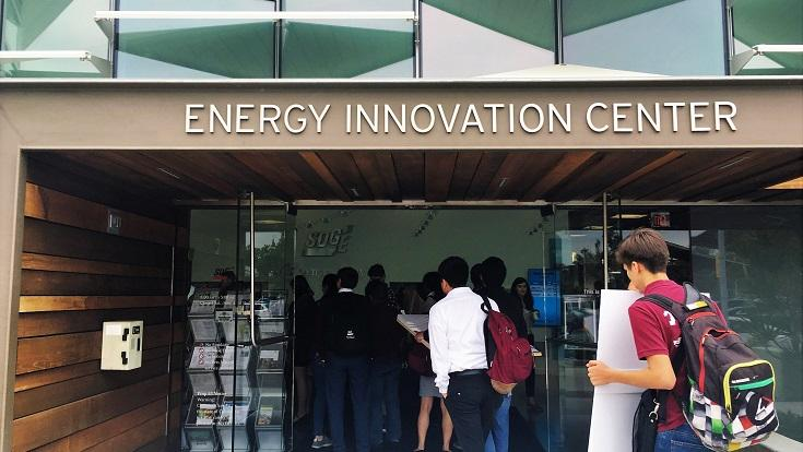 "From the Solar Trees® charging electric vehicles in the parking lot, to the automation devices managing the Smart Home, SDG&E's Energy Innovation Center (EIC) is a one-stop shop for visitors to experience the latest and ""greenest"" in energy-saving technologies."