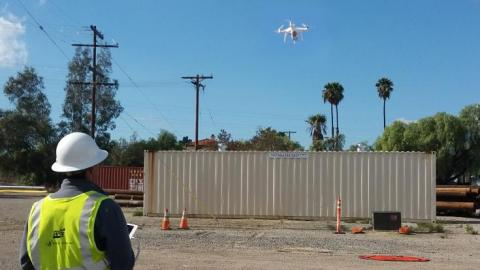 As part of our commitment to delivering safe, reliable electric and gas service, SDG&E leverages UAS technology to safely inspect power lines and gas pipelines.